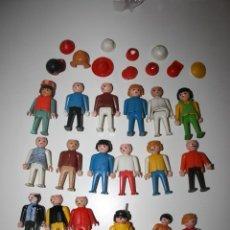 Airgam Boys: LOTE DE 18 MUÑECOS AIRGAM BOYS Y COMPLEMENTOS. 1974. Lote 43724325