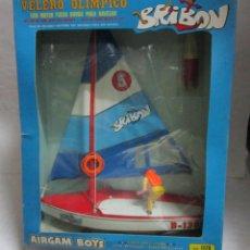 Airgam Boys: AIRGAM BOYS, BRIBON, VELERO OLIMPICO, REF 1175, EN CAJA. CC. Lote 44264439