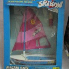 Airgam Boys: AIRGAM BOYS, BRIBON, VELERO OLIMPICO, REF 1175, EN CAJA. CC. Lote 44264445
