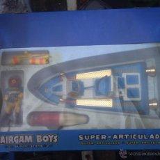 Airgam Boys: SPACE TOYS .- HIDRO JET -VEHICULO NAVE ESPACIAL DE AIRGAM BOYS. Lote 46478899
