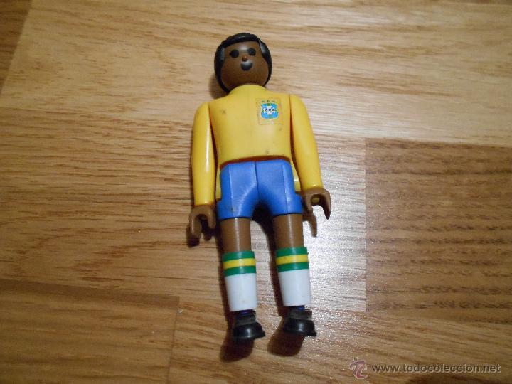AIRGAM BOYS AIRGAMBOYS ORIGINAL CON BALON JUGADOR BRASIL 10 SERIE FUTBOL MUNDIAL 82 DIFICIL (Juguetes - Figuras de Acción - Airgam Boys)