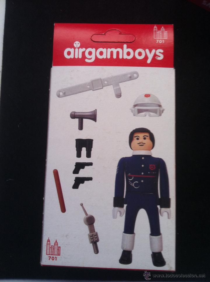 Airgam Boys: AIRGAMBOYS. EN CAJA. COMISARIO DE POLICIA. SIN ABRIR - Foto 2 - 47036208