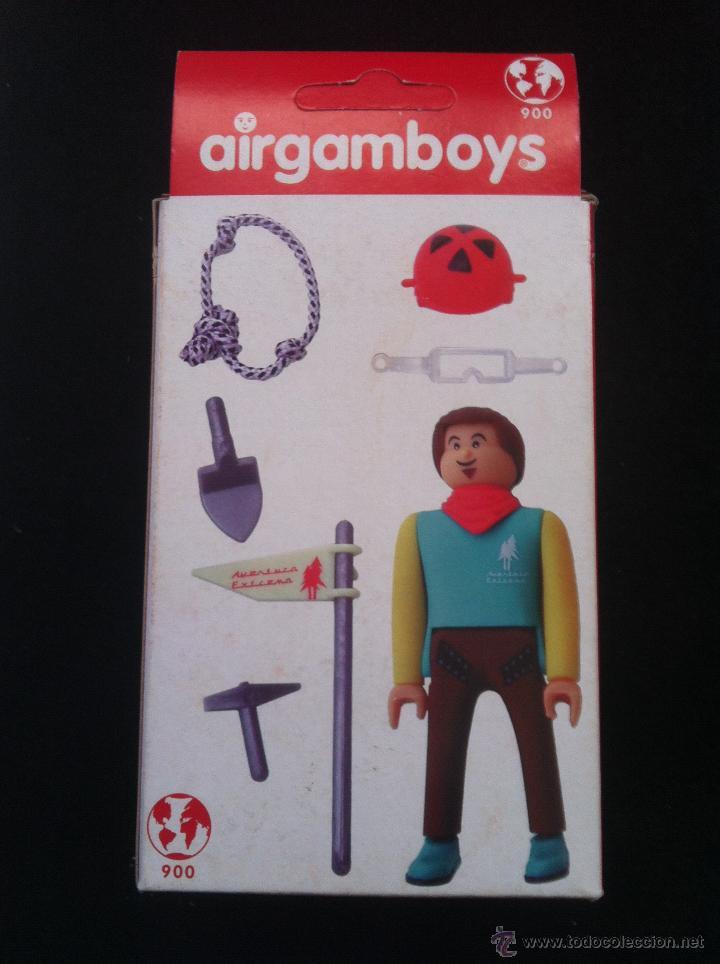 Airgam Boys: AIRGAMBOYS. EN CAJA. ESCALADOR MONTAÑERO. SIN ABRIR - Foto 2 - 47036219