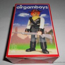 Airgam Boys: LOTE AIRGAMBOYS BILLY EL NIÑO NUEVO EN CAJA OESTE VAQUERO PISTOLERO JUGUETES COLECCION AIRGAM BOYS. Lote 47137061