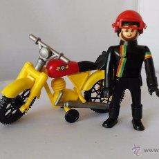 Airgam Boys: AIRGAM BOYS ORIGINAL ANTIGUO MOTORISTA + MOTO. Lote 51318734