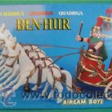 Airgam Boys: AIRGAMBOYS - CUADRIGA BEN HUR CABALLOS BLANCOS REF 610. Lote 75731255