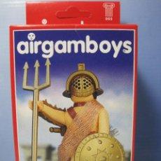 Airgam Boys: AIRGAMBOYS JEFE GLADIADOR SERIE ROMANOS NUEVO EN CAJA NEW TOYS REFERENCIA 90.004. Lote 55237198