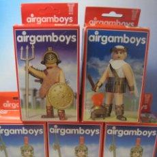 Airgam Boys: LOTE DE 5 AIRGAMBOYS SERIE ROMANOS NUEVOS EN CAJA NEW TOYS. Lote 55206643