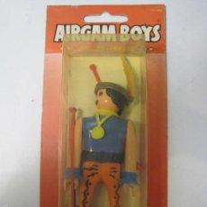 Airgam Boys: AIRGAMBOYS INDIO SERIE OESTE ORIGINAL DE LOS AÑOS 70 REF.02100 EN BLISTER. Lote 55372134