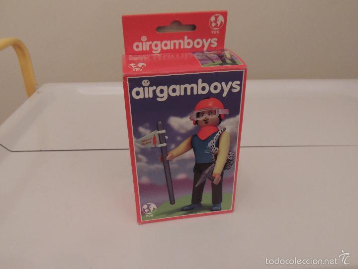 AIRGAMBOYS ESCALADOR (Juguetes - Figuras de Acción - Airgam Boys)