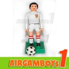 Airgam Boys: AIRGAM BOYS FUTBOLISTA SEVILLA CF SEVILLISTA + PEANA + BALÓN. Lote 57123848