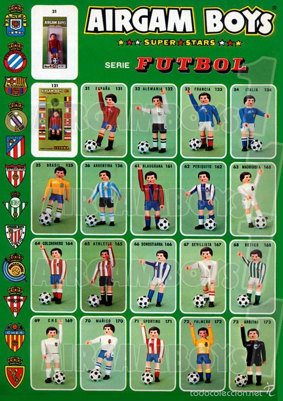 Airgam Boys: Airgam Boys Catálogo serie fútbol - reproducción ampliada - ENVIO GRATIS - Foto 2 - 86110468