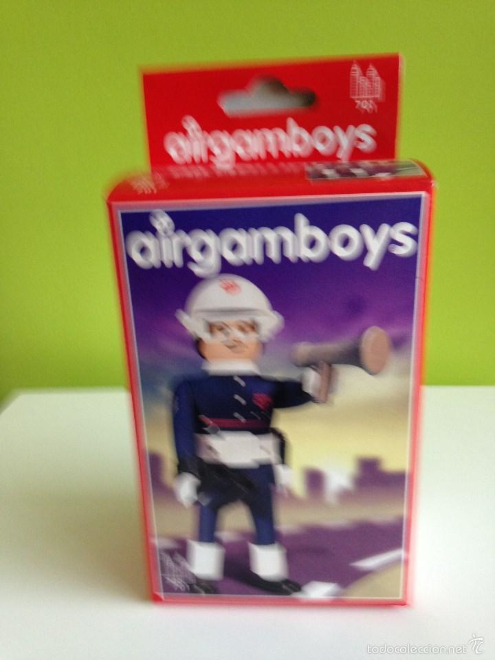 CAJA POLICIA AIRGAMBOYS (Juguetes - Figuras de Acción - Airgam Boys)
