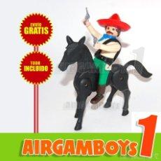 Airgam Boys: ¡¡¡ ENVÍO GRATIS !!! AIRGAM BOYS MEJICANO A CABALLO ¡¡¡ TODO INCLUÍDO !!!. Lote 94824618
