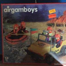 Airgam Boys: CAJA DE AIRGAMBOIS NUEVA. Lote 58179581