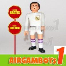 Airgam Boys: ¡¡¡ ENVÍO GRATIS !!! AIRGAM BOYS FUTBOLISTA REAL MADRID (ARTICULACIONES RÍGIDAS Y SEMIRÍGIDAS). Lote 58263420