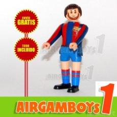Airgam Boys: ¡¡ ENVÍO GRATIS !! AIRGAM BOYS FUTBOLISTA FC BARCELONA BARÇA 4 (ARTICULACIONES RÍGIDAS Y SEMIRÍGIDAS. Lote 58263731