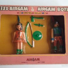 Airgam Boys: SET AIRGAM BOYS/MISS AIRGAM & AIRGAM BOYS INDIOS.. Lote 58292314