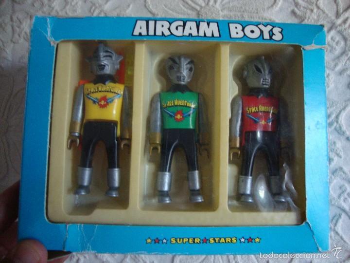 3 FIGURAS AIRGAM BOYS SPACE AVENTURER (Juguetes - Figuras de Acción - Airgam Boys)