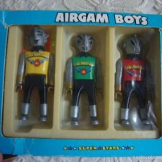 Airgam Boys: 3 FIGURAS AIRGAM BOYS SPACE AVENTURER. Lote 58472638