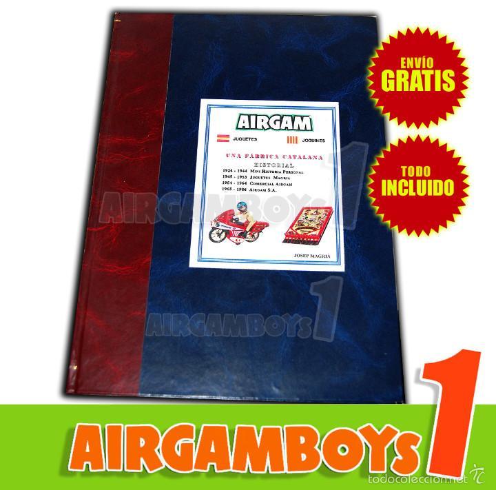 LIBRO PIEZA ORIGINAL CREADO POR EL FUNDADOR DE AIRGAM S.A. ¡¡¡ SOLO EXISTEN UNOS 10 EJEMPLARES !!! (Juguetes - Figuras de Acción - Airgam Boys)
