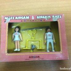 Airgam Boys: CAJA MISS AIRGAM BOYS OLIMPICOS AIRGAMBOYS . Lote 69360777