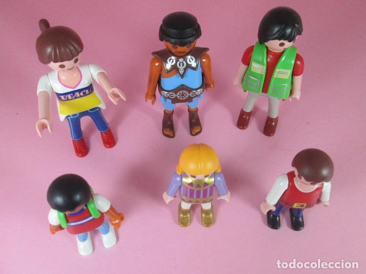 Airgam Boys: lote 6 muñecos-playmobil-buen estado-ver fotos. - Foto 2 - 70326673