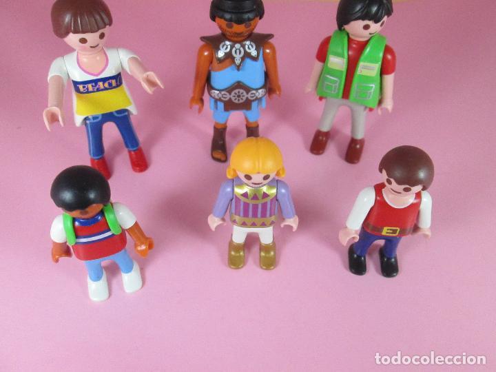 Airgam Boys: lote 6 muñecos-playmobil-buen estado-ver fotos. - Foto 3 - 70326673