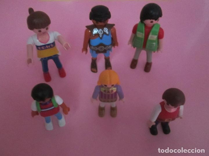 Airgam Boys: lote 6 muñecos-playmobil-buen estado-ver fotos. - Foto 4 - 70326673
