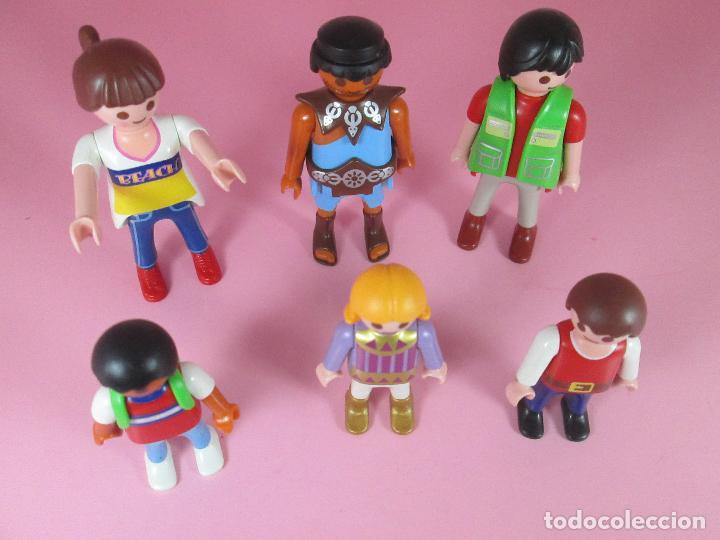 Airgam Boys: lote 6 muñecos-playmobil-buen estado-ver fotos. - Foto 5 - 70326673