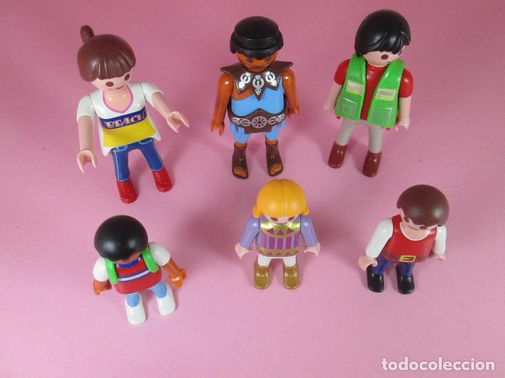 Airgam Boys: lote 6 muñecos-playmobil-buen estado-ver fotos. - Foto 6 - 70326673