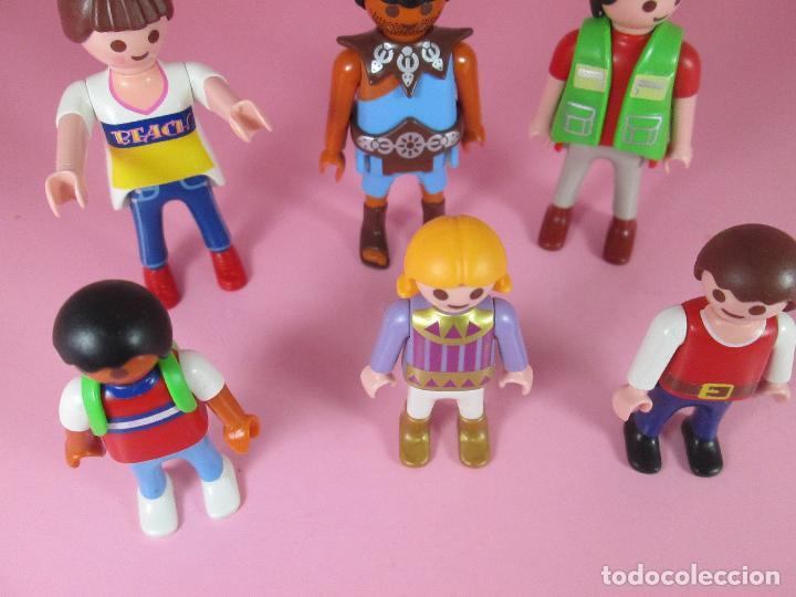 Airgam Boys: lote 6 muñecos-playmobil-buen estado-ver fotos. - Foto 7 - 70326673