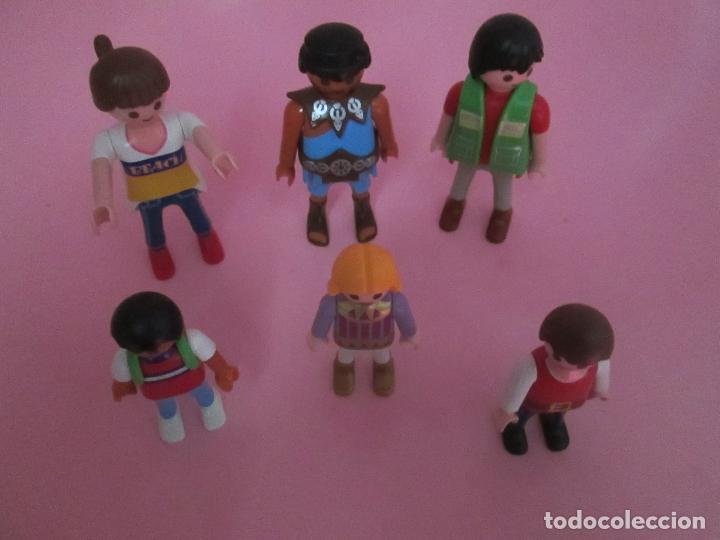 Airgam Boys: lote 6 muñecos-playmobil-buen estado-ver fotos. - Foto 8 - 70326673