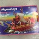 Airgam Boys: AIRGAMBOYS GALERA , BARCO ROMANO VER DESCRIPCION. Lote 135483129
