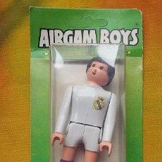 Airgam Boys: AIRGAM BOYS.SERIE FUTBOL FIGURA DEL REAL MADRID ORIGINAL AÑOS 80. Lote 75912491