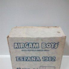 Airgam Boys: ANTIGUA CAJA DE AIRGAM BOYS . MUNDIAL ESPAÑA 1982 - PARA LAS 10 CAJAS DE REF 01 . SIN CONTENIDO. Lote 76796419