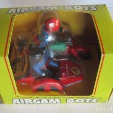 Airgam Boys: AIRGAM BOYS, MOTO CON SIDECAR, REF 241, EN CAJA. CC. Lote 79083345