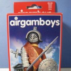 Airgam Boys: AIRGAMBOYS GLADIADOR NEGRO NUEVO EN CAJA. Lote 80321837