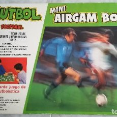 Airgam Boys: CAJA GRANDE DE MINI AIRGAM BOYS AIRGAMBOYS FUTBOL F. C. BARCELONA BARÇA VS REAL MADRID. Lote 89519184