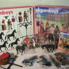 Airgam Boys: CUÁDRIGA ROMANA AIRGAMBOYS, REF. 007. CAJA COMPLETA SIN ESTRENAR.. Lote 92991485