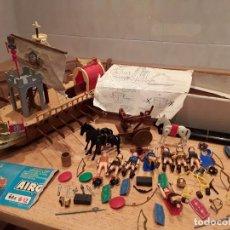 Airgam boys barco romano, funcionando, ballesta y demás material.
