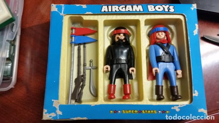 CAJA BEDUINOS DE AIRGAMBOYS AIRGAM BOYS ORIGINAL ARABES REFERENCIA 45201 (Juguetes - Figuras de Acción - Airgam Boys)