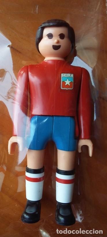 AIRGAM BOYS. SERIE FUTBOL, JUGADOR SELECCION DE CHILE AÑOS 80 (Juguetes - Figuras de Acción - Airgam Boys)