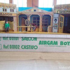Airgam Boys: AIRGAMBOYS AIRGAM BOYS SUPER STARS SALOON REF. 00101 DE CARTON EN CAJA. ORIGINAL AÑOS 70 OESTE. PTOY. Lote 104076535