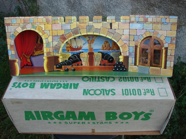 CASTILLO AIRGAM BOYS - AIRGAMBOYS (Juguetes - Figuras de Acción - Airgam Boys)