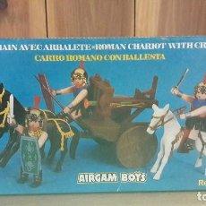 Airgam Boys: AIRGAM BOYS 612 SERIE ROMANOS CON CARRO Y BALLESTA . Lote 109472631