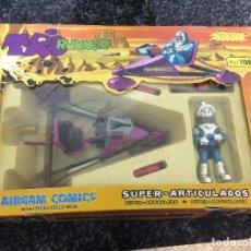 Airgam Boys: MASTERS LOTE AIRGAM BOYS COMICS SUPER FANTASTIC DIABOLIC DIFICIL VEHICULO SIDAR MASTERS PRECINTADO. Lote 112063691