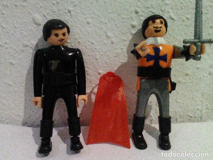 AIRGAMBOYS CRUZADO, ZORRO Y CAPA BEDUINO (Juguetes - Figuras de Acción - Airgam Boys)