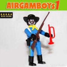 Airgam Boys: AIRGAM BOYS AIRGAMBOYS - SARGENTE NEGRO NORDISTA - SERIE OESTE ¡¡¡MEJOR CALIDAD!!!. Lote 114369903
