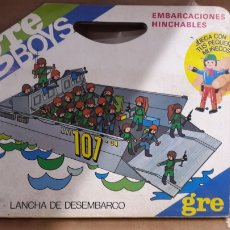 Airgam Boys: GRE BOYS LANCHA DE DESEMBARCO NAVY 107. Lote 122789114